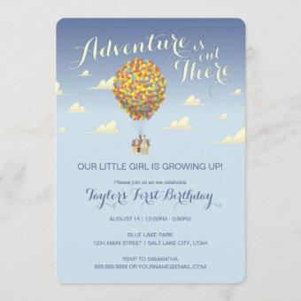 UP Birthday | Adventure is Out There Invitation